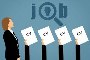 People handling CV