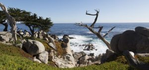 Monterey has beautiful views as the city is located on the Pacific coast.