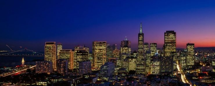 California intrastate movers - San Francisco at nigh