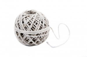 Long distance moving checklist - packing rope