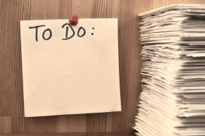 unpack efficiently after moving - a to do list
