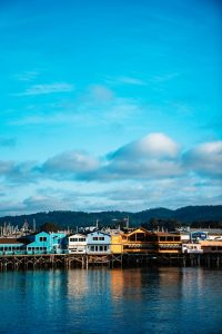 Monterey marina.
