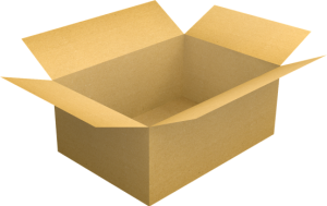-illustration of a box