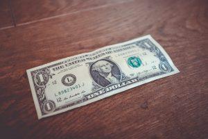 -one dollar bill