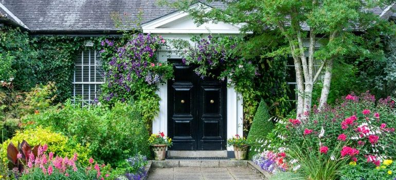 pathway to a house - boost your home's curb appeal