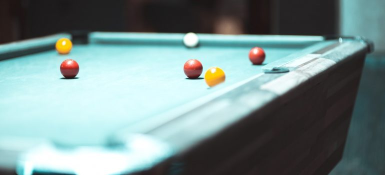 Find an affordable way to move a pool table safely